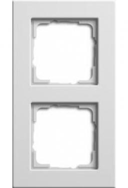 Zubehör: Doppelrahmen 55mm für U::lux ds Ready Bediengeräte