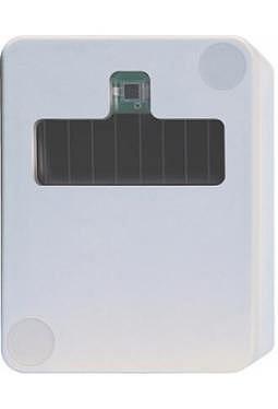 Funk-Außen-Feuchte-Temperatursensor mit Solarzelle reinweiß